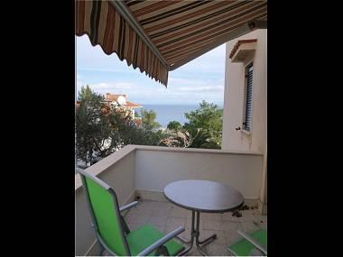 A2(2+1): terrace - 2978 A2(2+1) - Mali Losinj - Mali Losinj - rentals