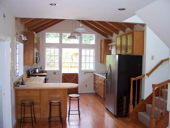 Kitchen - The Bentley House - Stinson Beach - rentals