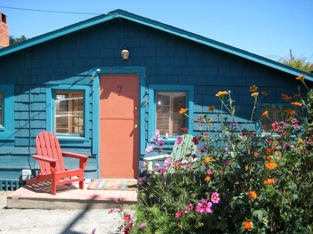 Front of House - Mouse - Stinson Beach - rentals