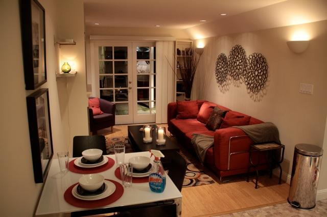 dining area and livingroom - Cozy 1bdrm Garden Retreat - San Francisco - rentals