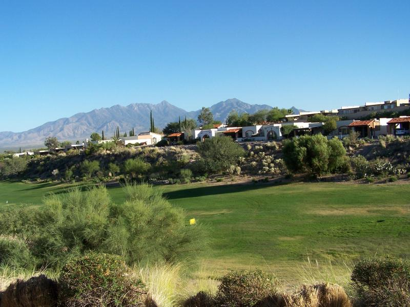 Golf Range with Mountians in the back ground (view from your patio) - 1-Bed Room W/Privacy and Unobstructed Views.. - Green Valley - rentals
