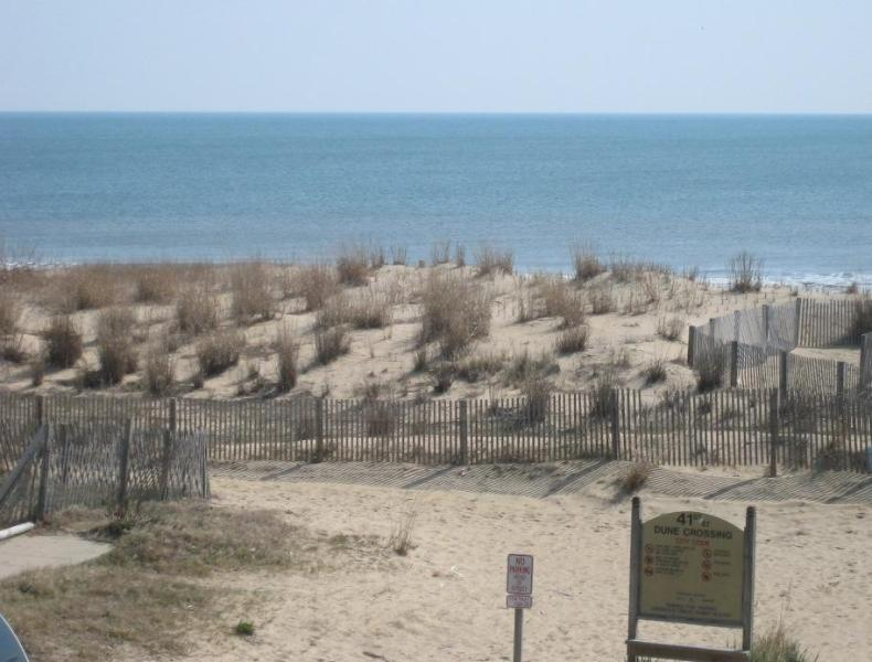 View from Balcony - 41st Ocean City Condo - Great Ocean View - Ocean City - rentals