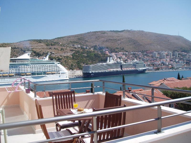 terrace view - Attic Apartment Iris - Classy & New (4+1) - Dubrovnik - rentals