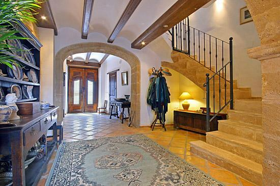 Main Hallway to main house - 5 Bedrooms - Spectacular Luxury Spanish Townhouse - Javea - rentals