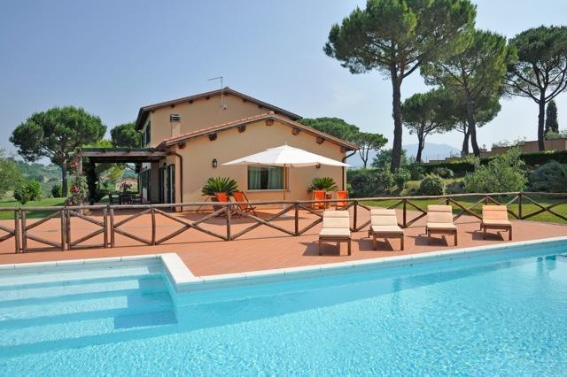 Pool - Exclusive villa with private pool near Rome - Magliano Sabina - rentals