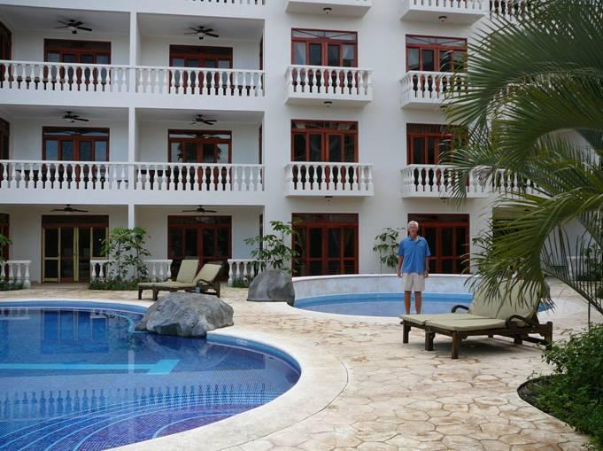 Our unit is right between these two pools - 2 bdrm Condo in Beachfront Resort, Jaco Costa Rica - Jaco - rentals