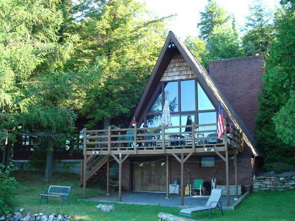 Secluded Lakefront Chalet - Image 1 - Dannemora - rentals
