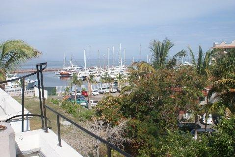 View of Marina Palmira from rooftop with private access, only from this condo. - Marina Palmira Condominium - La Paz - rentals