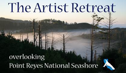 View from the Artist Retreat - Artist Retreat overlooking Pt. Reyes Nat. Seashore - Inverness - rentals