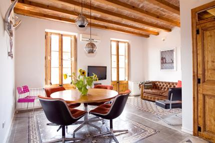 Sant Pau Apartment - Image 1 - Barcelona - rentals