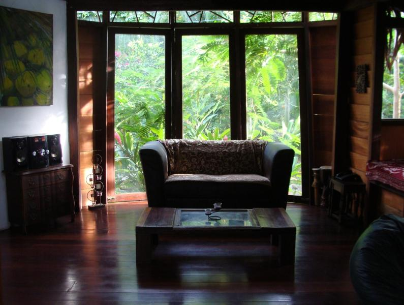 Living room - Isabel's Wild Garden In Manzanillo Beach - Manzanillo - rentals