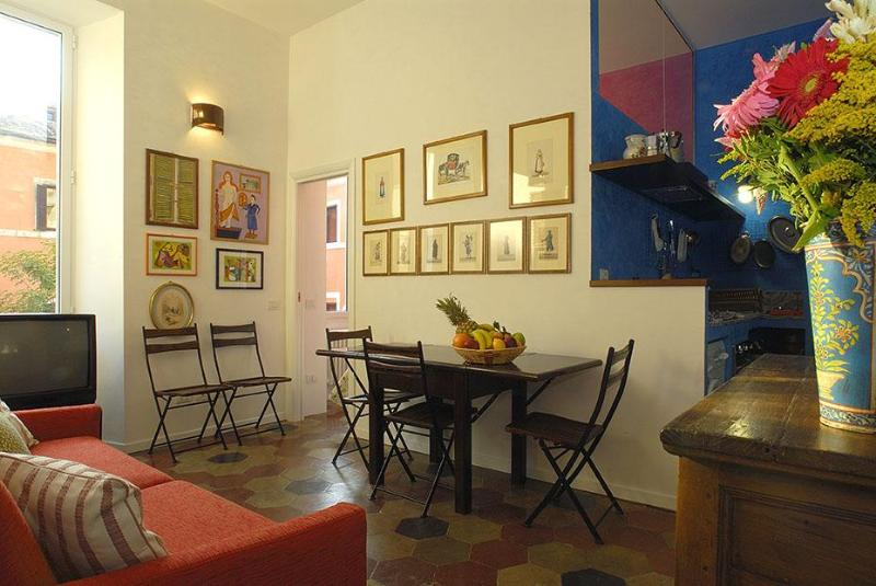 Living room - Rome Accommodation Monti - Rome - rentals