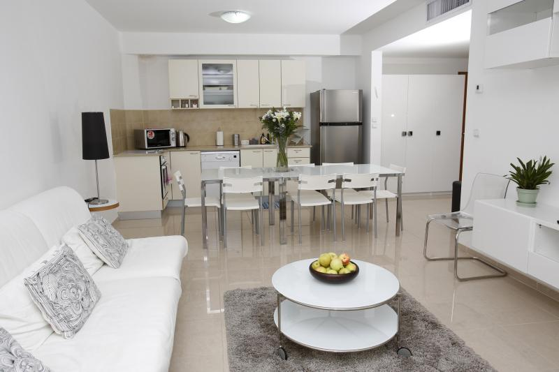 A view of one of our two bedroom apartments - WINDOWS OF JERUSALEM Vacation Apts by EXP - 2 BR - Jerusalem - rentals