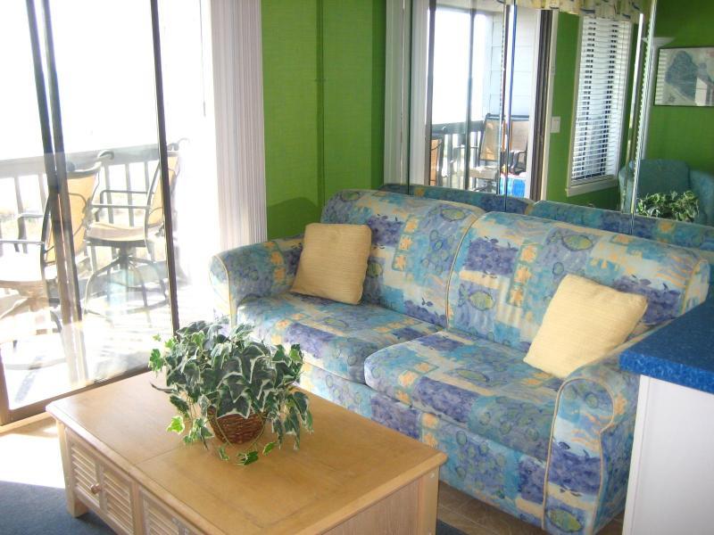 Living Room - HHBT - AR305 - Direct Ocean Front on the Beach! - Hilton Head - rentals