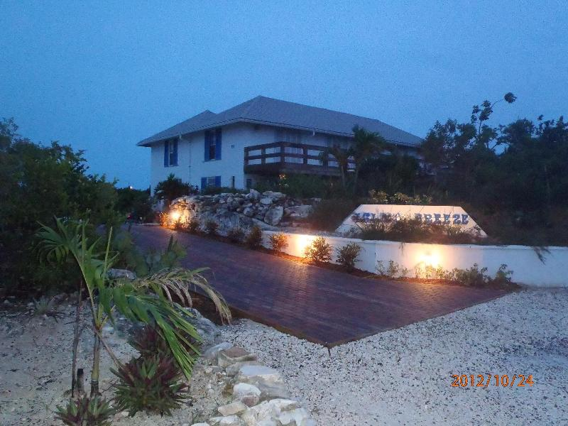Night View of Front Entrance of Island Breeze - Best Deal in Grace Bay - Providenciales - rentals