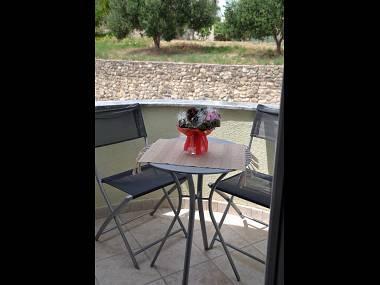 SA(2): balcony - 3004 SA(2) - Banjol - Banjol - rentals