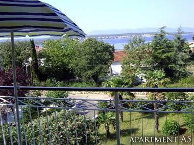 A KAT(7): terrace view - 3006  A KAT(7) - Malinska - Malinska - rentals