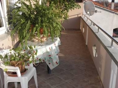 A1 mali(2+2): terrace - 3040 A1 mali(2+2) - Bibinje - Bibinje - rentals