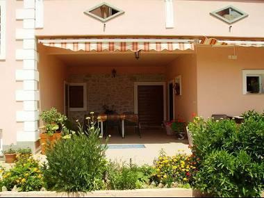 A2 rustico (4+1): garden terrace - 3040 A2 rustico (4+1) - Bibinje - Bibinje - rentals