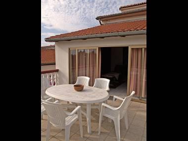 A2(2+3): terrace - 3027 A2(2+3) - Bibinje - Bibinje - rentals