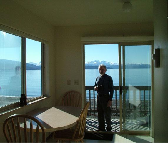 View out of the South unit - Sea Lion Cove - Homer - rentals