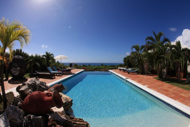 La Pergola, Terres Basses, St Martin 800 480 8555 - LA PERGOLA...Beautiful tropical retreat w/ 4 master suites Great Couples Villa...Fully Air Conditioned! - Terres Basses - rentals