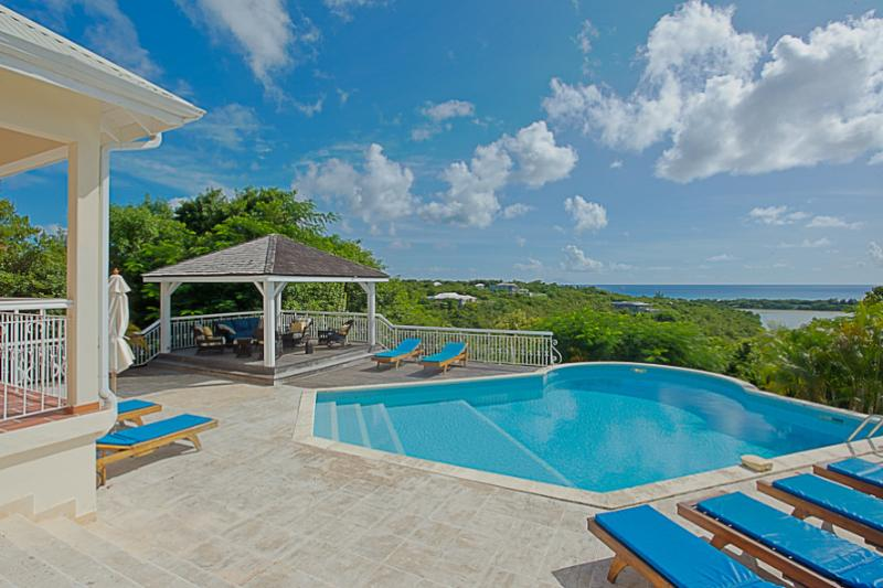 La Savane...Terress Basses, St. Martin - LA SAVANE... comfortable, spacious 4 BR villa, great for families! - Terres Basses - rentals