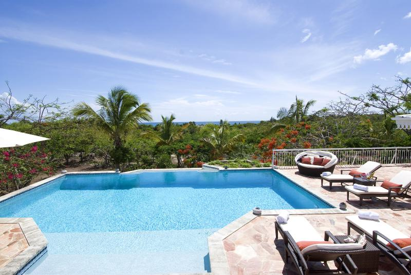 Jardin Creole...Terres Basses, St Martin - JARDIN CREOLE...  only 360 easy yards to the soft sand of Plum Baie beach! - Plum Bay - rentals
