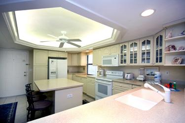 KITCHEN - Pointe Santo E23 - Sanibel Island - rentals