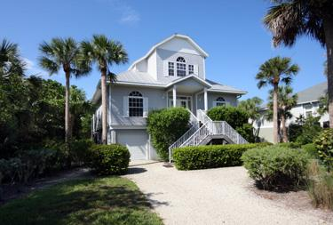 FRONT OF  HOME - Halliday - Captiva Island - rentals