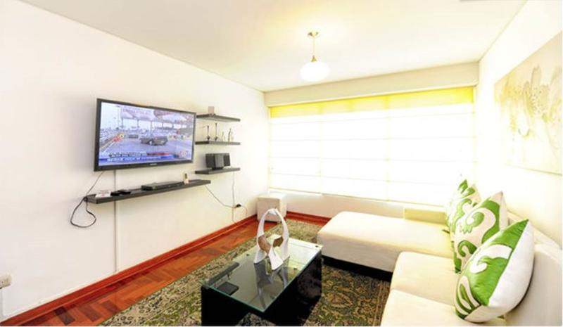 Living room - Great Location !!  Brand new apartment - Lima - rentals
