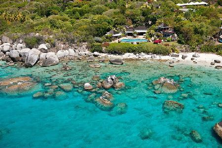 Sol y Sombra is comprised of four beachfront pavilions with infinity pool, gym & watersports - Image 1 - Virgin Gorda - rentals
