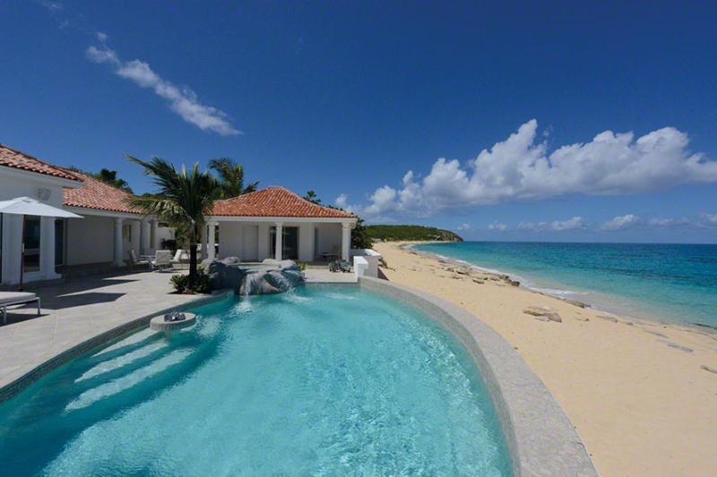 Carisa at Baie Rouge Beach, Saint Maarten - Beachfront, Pool & Jacuzzi, Media Room - Image 1 - Terres Basses - rentals