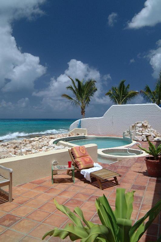 Villa Daffodil ...Pelican Key beach front, St Maarten - DAFFODIL... on the beach at Pelican Key, this luxurious, unique villa promises a memorable vacation experience. - Pelican Key - rentals