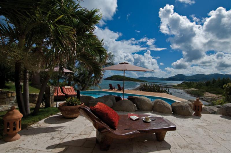 Les Mas des Sables, Terres Basses, St Martin 800 480 8555 - LE MAS DES SABLES... One of our favorites! Gorgeous villa with beach access... very private! - Baie Rouge - rentals