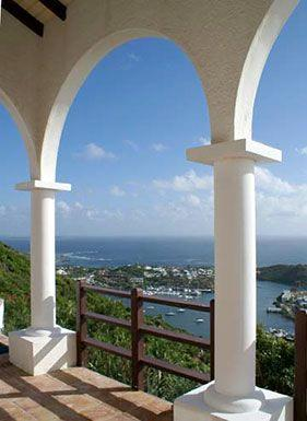 Leones...fabulous view of Oyster Pond, St Maarten, Dawn Beach nearby - LEONES....Private love nest high on a hill with outstanding views of the ocean and St Barths - Oyster Pond - rentals