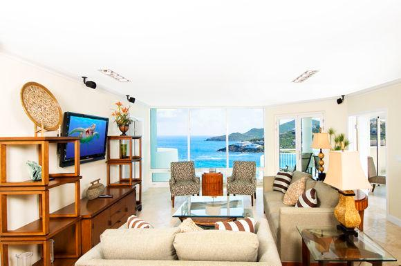 Lighthouse 3C...Dawn Beach - Lighthouse 3C...featuring beautiful views of the ocean and Dawn Beach - Oyster Pond - rentals