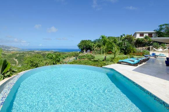 Ideal for Couples & Families, Short Drive to Beach & Restaurants, Private Pool, Views!!! - Image 1 - Oyster Pond - rentals