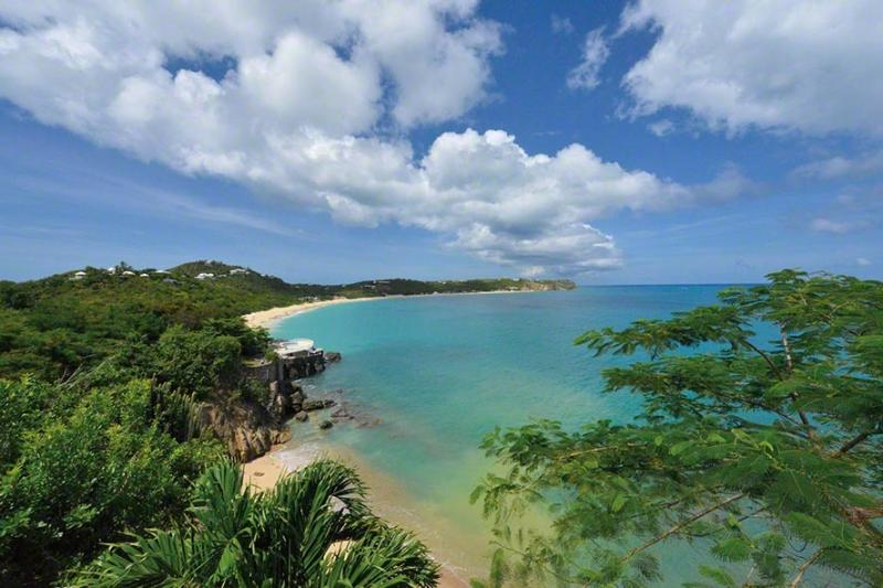 Point des Fleurs... Baie Rouge, St Martin  800 480 8555 - POINTE DES FLEURS...your own private, secluded sandy beach - Baie Rouge - rentals