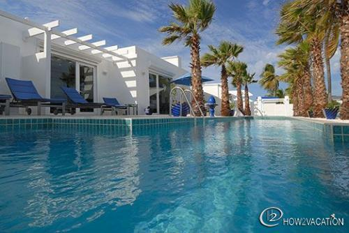 CORINNE...at Coral Beach Club... fabulous 3 BR beachfront villa at Coral Beach - Image 1 - Oyster Pond - rentals
