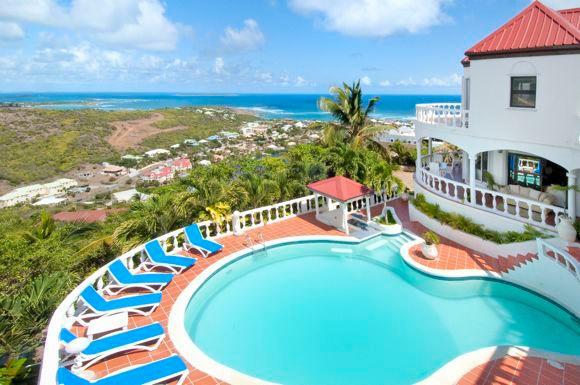 La Grand Vigie, Oyster Pond, St Maarten - LA GRANDE VIGIE... St Maarten Villa Situated Hilltop In Oyster Pond - Oyster Pond - rentals