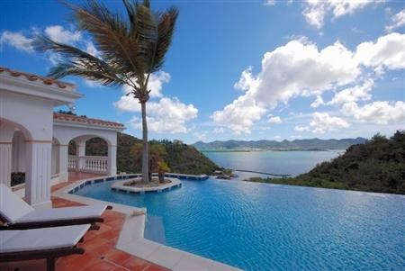 Waterfront on Simpson Bay, Infinity Pool, Great for Large Groups, Tennis Court, Short Drive to Beach - Image 1 - Terres Basses - rentals