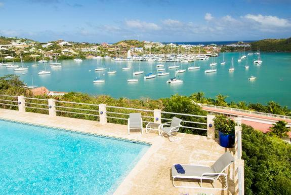 Villa Sunrise, Oyster Pond, St Maarten - SUNRISE...Affordable 5 BR family villa within walking distance to beautiful - Oyster Pond - rentals