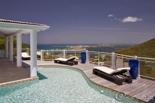 VILLA HORIZON... Stunning views await you at this beautiful new contemporary 3 BR villa! - HORIZON...  Stunning views await you at this beautiful new contemporary villa! - Saint Martin-Sint Maarten - rentals