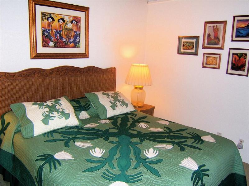 California King in Master Bedroom - ALOHA SPOKEN HERE!  Comforts of Home, 100 Reviews! - Waikoloa - rentals