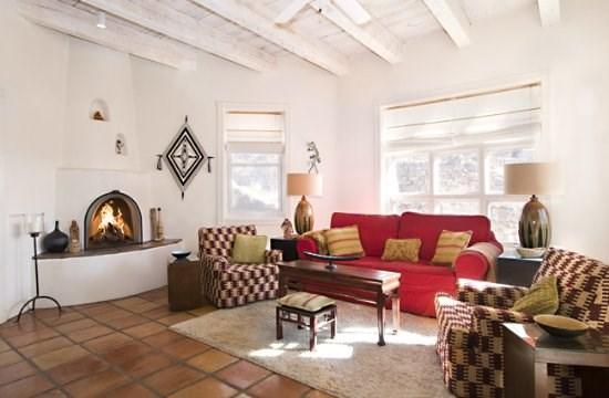 Living Room - Espiritu de Madre - Santa Fe - rentals