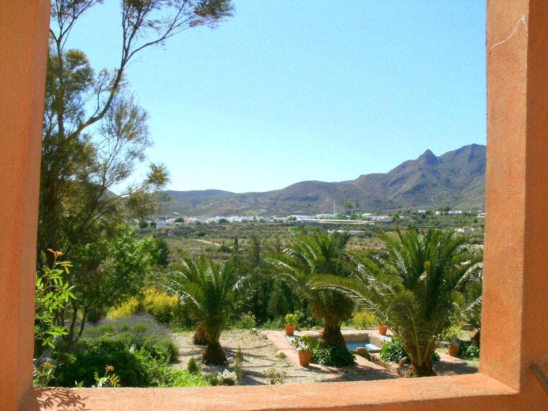 view from porch - Finca del Alamo - Nijar - rentals