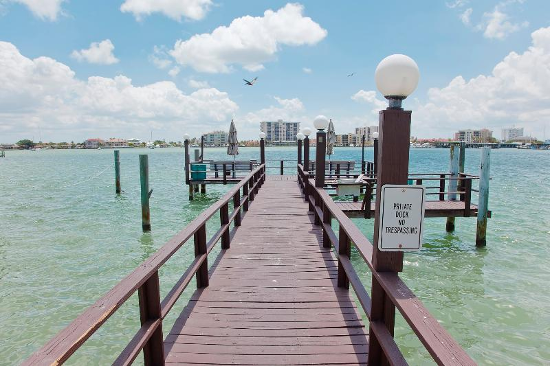 Private Dock - Clearwater Beach Waterview Studio - Clearwater - rentals