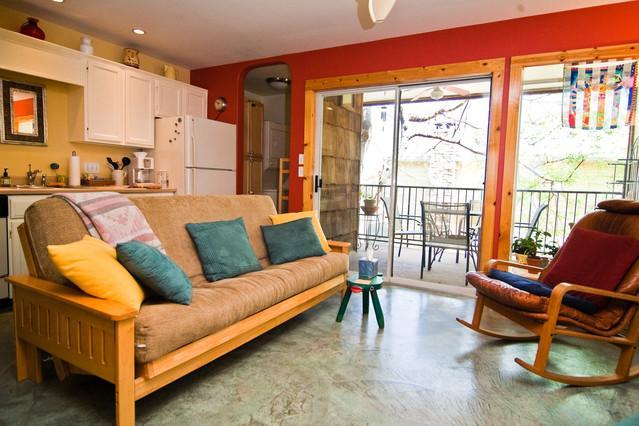 Kick back in the comfort of the living room! - Beautiful Zilker Park Condo-Walk to Zilker Park- - Austin - rentals