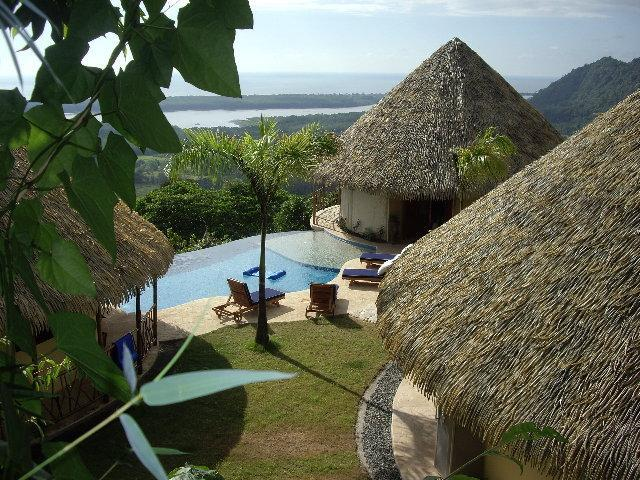 View of Main area - Candelilla Jungle Compound-Rates based on # People - Ojochal - rentals